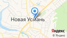 БТИ Новоусманского района на карте