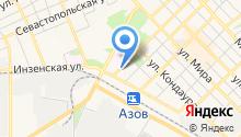 Газпром межрегионгаз Ростов-на-Дону на карте