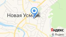 Уголовно-исполнительная инспекция по Новоусманскому району на карте