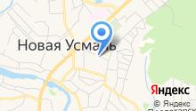 Адвокатская консультация Новоусманского района на карте