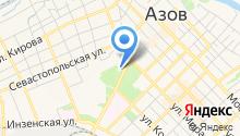 Дворец культуры г. Азова на карте