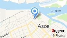 Храм иконы Божией Матери Азовской на карте