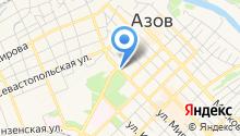 ЗАГС г. Азова на карте