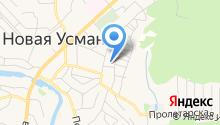 Управление пенсионного фонда РФ по Новоусманскому району Воронежской области на карте