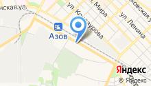 Ландшафт Азов на карте