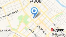 Нотариус Зайцева Е.В. на карте