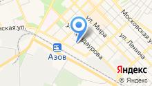 Азов-Сити на карте