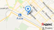 Азов-Сити Медиа на карте