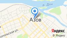 Управляющая компания Азов на карте