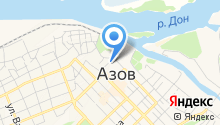 Дом детского творчества г. Азова на карте