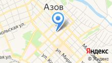 Ростовская областная коллегия адвокатов им. Д.П. Баранова на карте