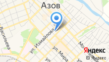Азовский городской суд на карте