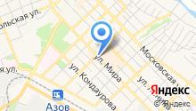 Золотой Ломбард на карте