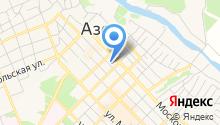 Центр занятости населения г. Азова на карте