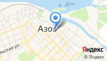 Донхлеббанк, ПАО на карте