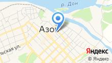 АКБ Донхлеббанк на карте