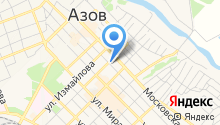 Азовская специальная школа №7 на карте