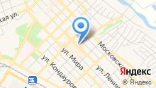 Azov garden на карте
