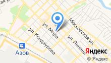 Сеть мебельных салонов на карте