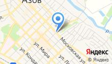 Азовский центр бухучета на карте