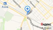 Водная станция на карте