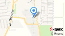 Азовский завод по ремонту строительных машин на карте