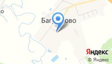 Баграмовская сельская библиотека на карте