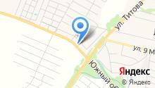 Магазин автозапчастей для грузовиков на карте