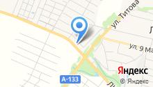 Магазин кирпича и строительных блоков на карте