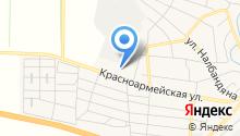 АЗС на Красноармейской на карте
