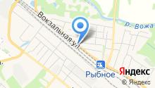 Рязанская противопожарно-спасательная служба на карте