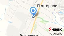 Полесье Липецк на карте