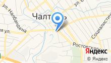 Отдел МВД России по Мясниковскому району на карте