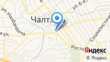 Военно-учетный стол Администрации Чалтырьского сельского поселения на карте