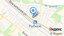 Рыбновский отдел Управления Федеральной службы государственной регистрации на карте