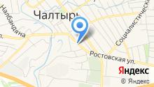 Отделение ГИБДД Отдела МВД России по Мясниковскому району на карте