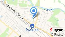 Рыбновский краеведческий музей на карте