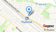Рыбновское районное потребительское общество на карте