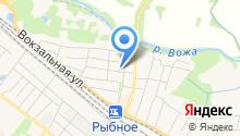 Рыбновская центральная районная больница на карте