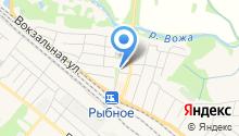 Всероссийское общество инвалидов Рыбновского района на карте