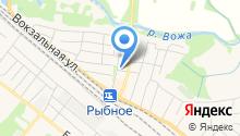 Рыбновская городская фотография на карте