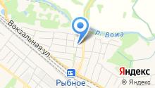 Отделение ГИБДД, ОМВД России по Рыбновскому району на карте