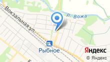 Управление Федерального казначейства по Рязанской области на карте