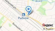 Рыбновский учебный спортивно-технический центр на карте