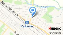 Главное управление ЗАГС в Рязанской области в г. Рыбное на карте