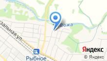 Отдел судебных приставов по Рыбновскому району на карте