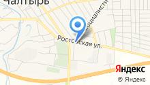 Служба судебных приставов по Мясниковскому району на карте