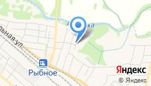 Рыбновская детская школа искусств на карте