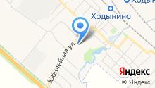 Рыбновская средняя школа №3 на карте