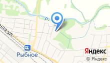 Рыбновская средняя общеобразовательная школа №1 на карте